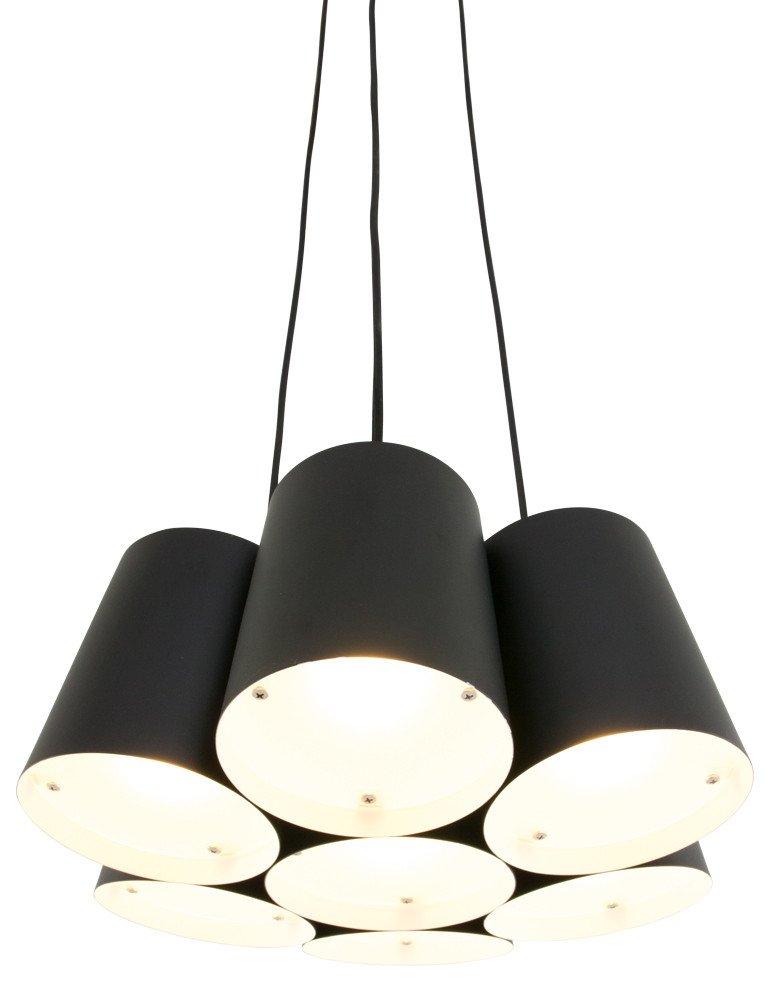 Multi leuchte freelight aster schwarz 40cm for Freelight lampen