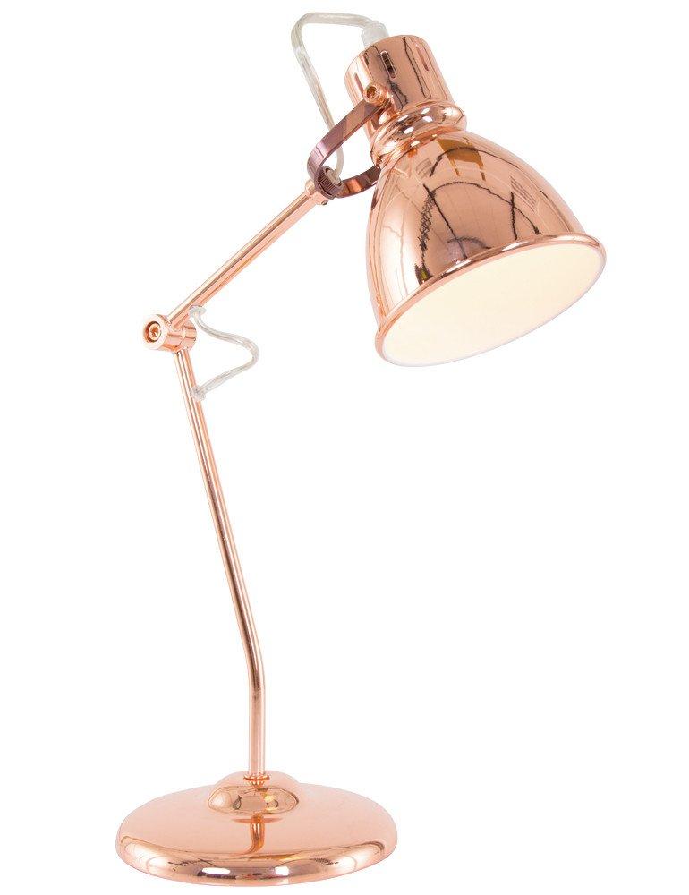 kipp schreibtischlampe trio leuchten jasper kupfer. Black Bedroom Furniture Sets. Home Design Ideas