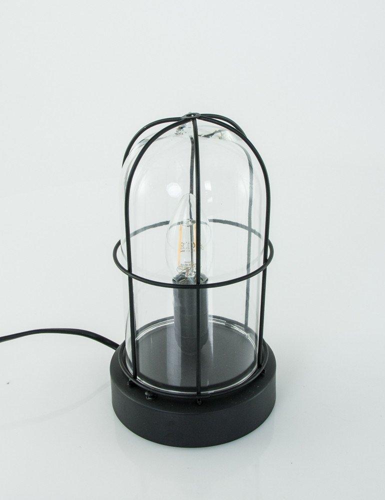 vintage lichtkuppel trio leuchten birte schwarz. Black Bedroom Furniture Sets. Home Design Ideas
