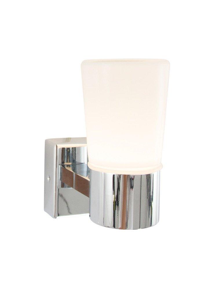 badezimmer wandlampe trio leuchten nevio chrom. Black Bedroom Furniture Sets. Home Design Ideas