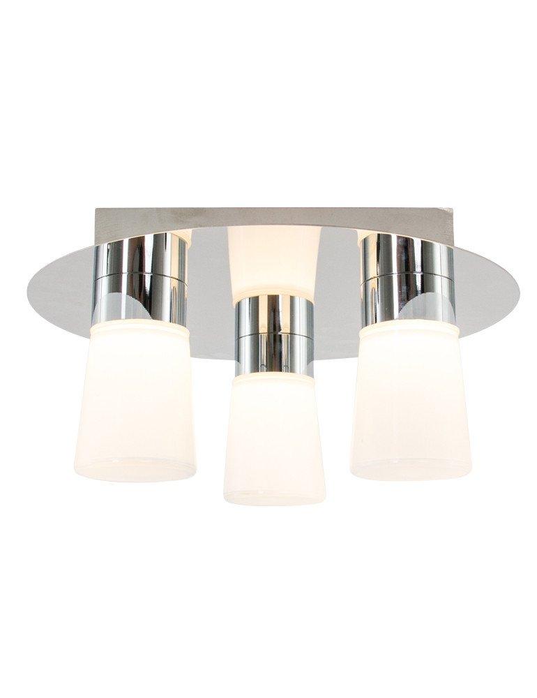 Led Badezimmerlampe Trio Leuchten Nevio Chrom O30 Cm Vivaleuchten De