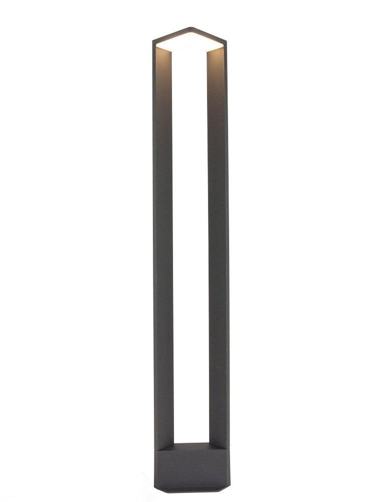 design au enlampe trio leuchten ganges dunkelgrau 100 cm. Black Bedroom Furniture Sets. Home Design Ideas