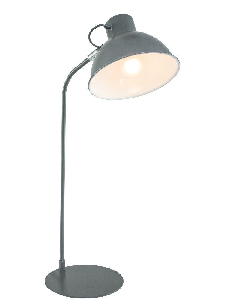 coole schreibtischlampe la forma odalis grau. Black Bedroom Furniture Sets. Home Design Ideas