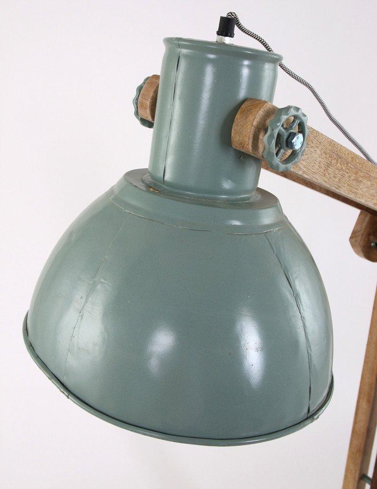 Tough Stehlampe Light & Living Edward Industrie grün