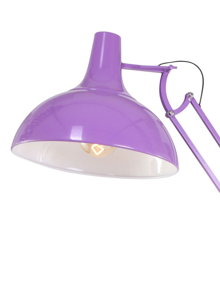 Bunte stehleuchte lumidem office magna lila 180cm for Bunte stehlampen