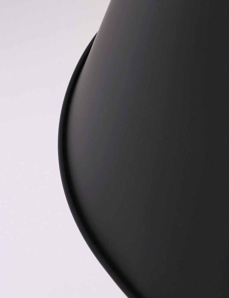 Hochwertige fabriklampe anne hoody schwarz 40 cm for Hochwertige stehlampen