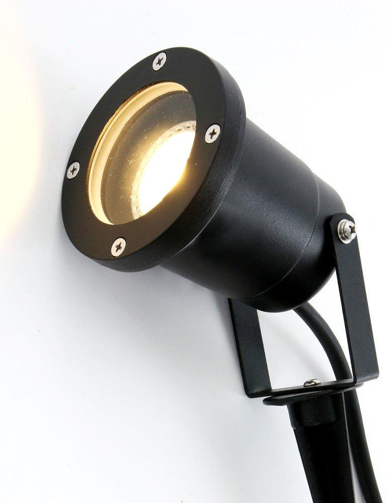Verstellbare Gartenbeleuchtung Modell Samera von Shada, schwarz ...
