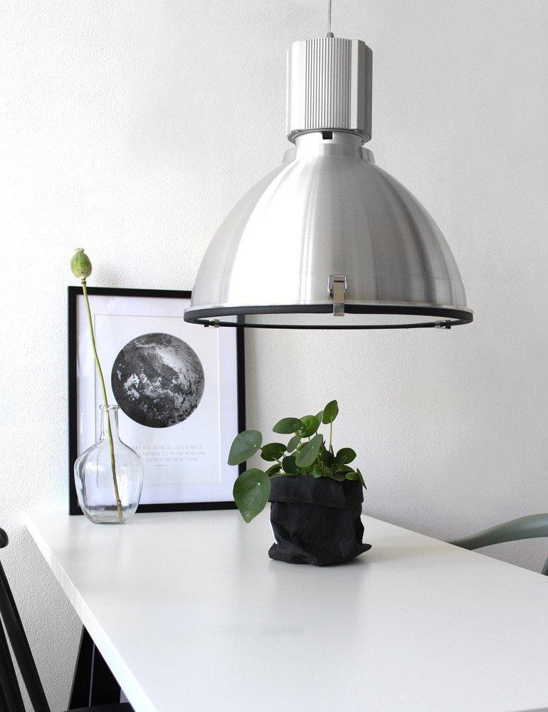 industrielle pendelleuchte steinhauer warbier stahl. Black Bedroom Furniture Sets. Home Design Ideas