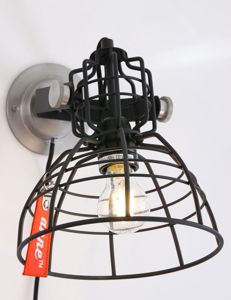 trendy wandleuchte anne lighting mark iii schwarz