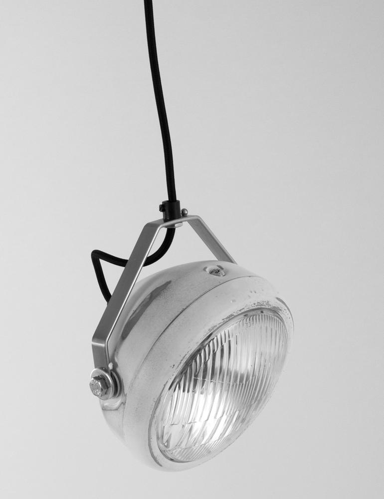 industrielle pendelleuchte lichtlab no 5 wei 17 cm. Black Bedroom Furniture Sets. Home Design Ideas