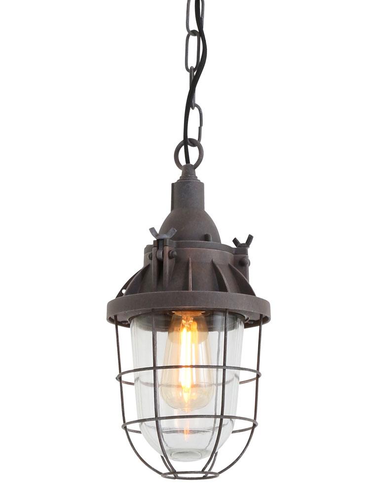 oldtimer lampe lumidem ebbe braun 17 zentimeter. Black Bedroom Furniture Sets. Home Design Ideas