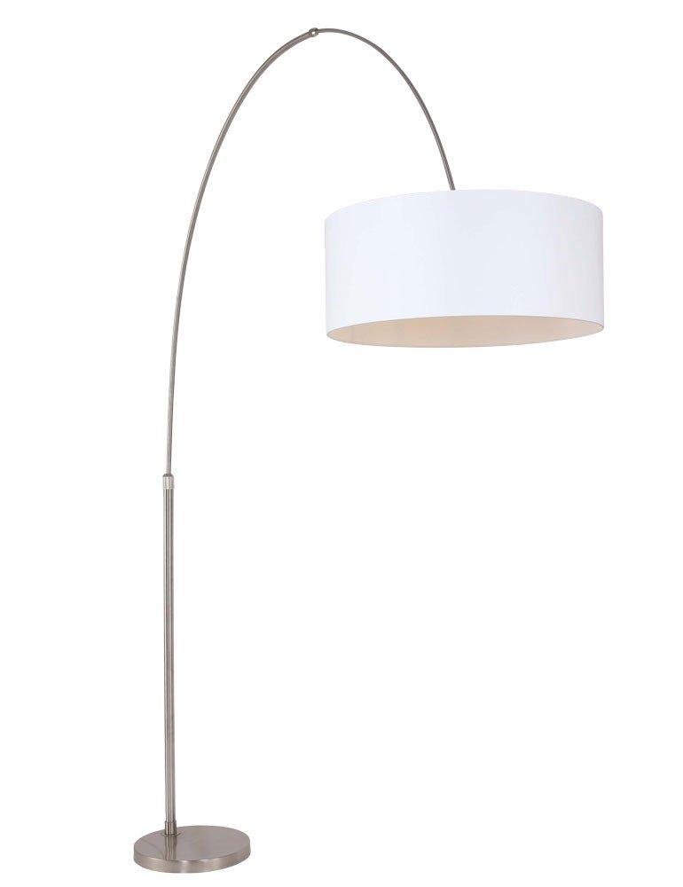 bogen stehlampe steinhauer stresa wei. Black Bedroom Furniture Sets. Home Design Ideas