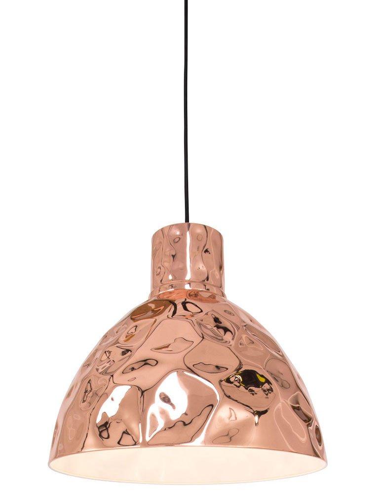 Stilvolle h ngelampe freelight canna kupfer 26cm for Freelight lampen