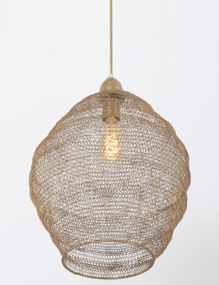 einzigartige lampe light living nina bronze. Black Bedroom Furniture Sets. Home Design Ideas