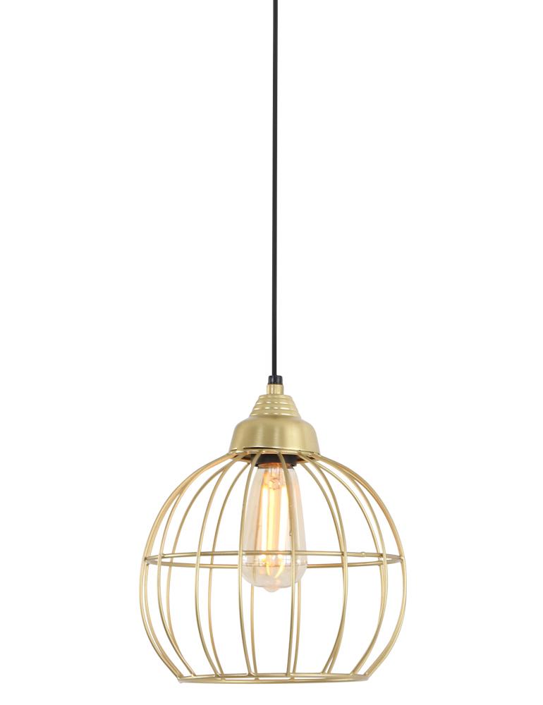 Trendige Drahtlampe Light&Living Benthe Gold ?22 cm