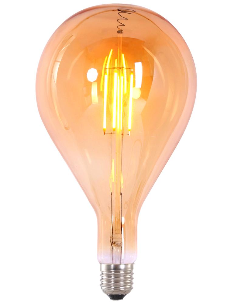 4w e27 led filament warmes licht xxl. Black Bedroom Furniture Sets. Home Design Ideas
