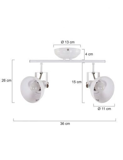 2-flammige-Deckenleuchte-Weiß-1108W-5