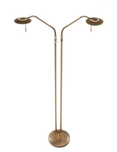 2-flammige Stehleuchte Bronze-1569BR