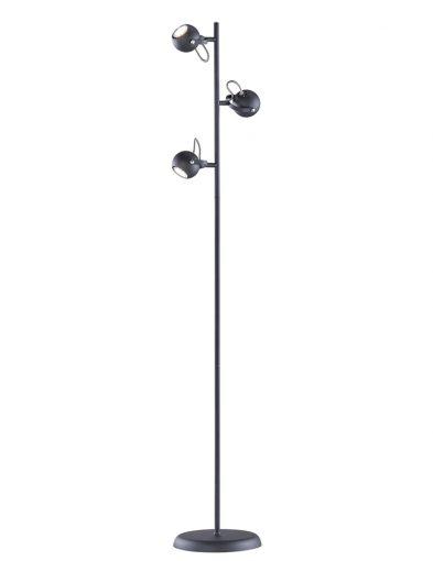 3-flammige Stehleuchte mit schwenkbarem Lampenschirm-1883ZW