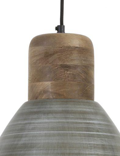Antike-Silberne-Hängelampe-mit-Holzplatte-1745ST-2