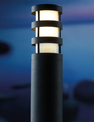 Außenlampe-pfahl-schwarz-2173ZW-1