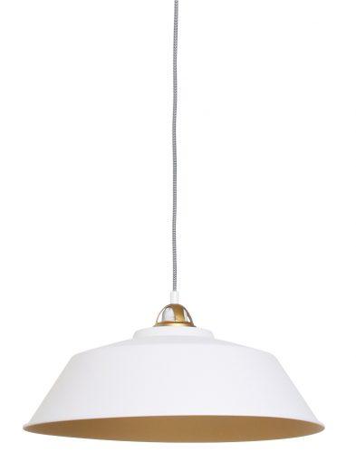 Ausgeprägte Hängelampe Weiß-1318W
