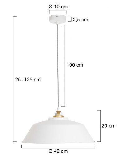 Ausgeprägte-Hängelampe-Weiß-1318W-5