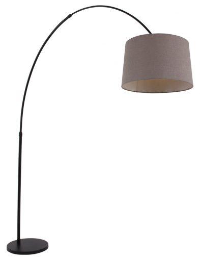 Bogenleuchte schwarz verstellbar-9850ZW