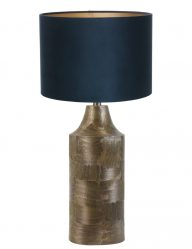 Braune Standleuchte-9252BR