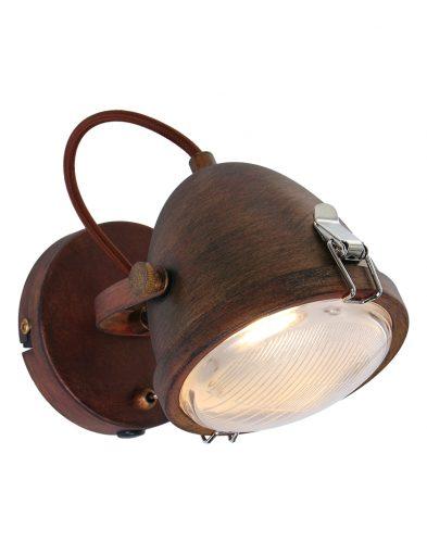 Braune Wandlampe-1311B