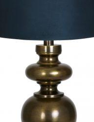 Bronze-Tischlampe-mit-Blaue-schirm-9270BR-1