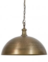 Bronzefarbene Esstischlampe-1979BR