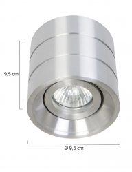 Deckenaufbaustrahler-Stahl-LED-7522ST-1