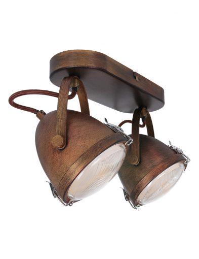 Deckenlampe mit 2 Spots-1312B