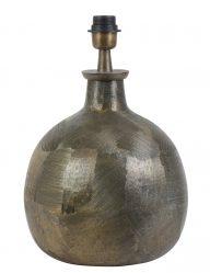 Dunkler Lampensockel aus Bronze-2065BR