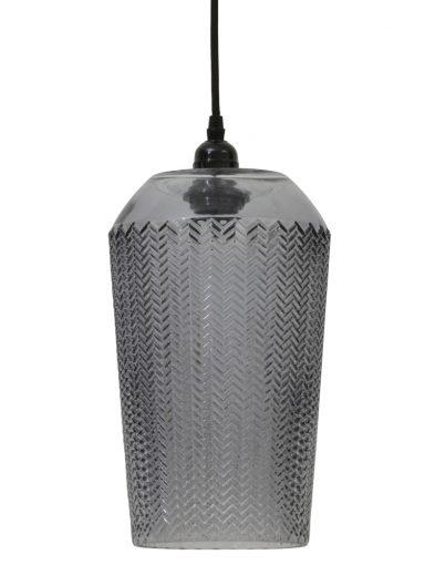 Einzigartige Glas-Hängelampe mit Muster-2026GR