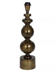 Einzigartiger glänzender Bronze-Lampensockel-2067BR