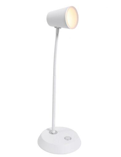 Flexible Schreibtischlampe Weiß-1490W