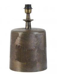 Gebeizter industrieller Lampenfuß Bronze-2066BR