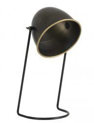 Gemütliche Tischlampe aus dunkler Bronze-1782BR
