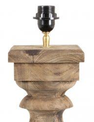 Geschnitzter-ländlicher-Lampensockel-aus-Holz-2050BE-1