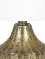 Goldfarben-Tischleuchte-mit-Weiße-Schirm-9293GO-1