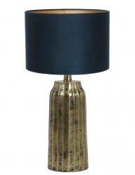 Goldfarbene Lampe-9210GO