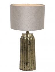 Goldfarbene Lampe-9211GO