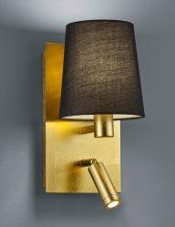 Goldfarbene-Wandleuchte-mit-zusätzlichem-Leselicht-1793ME-1
