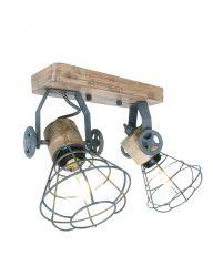 Graue Deckenlampe-1579GR
