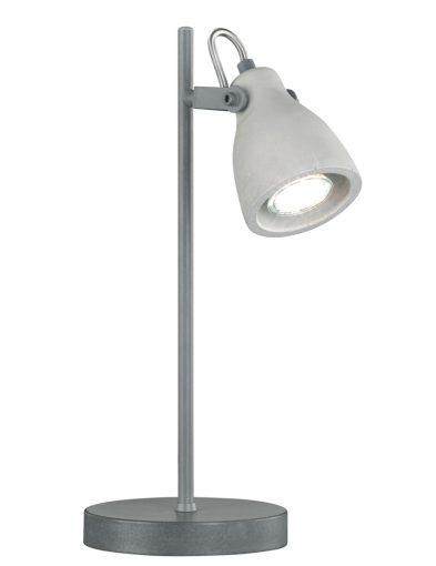 Graue Industrie-Schreibtischlampe-1815GR