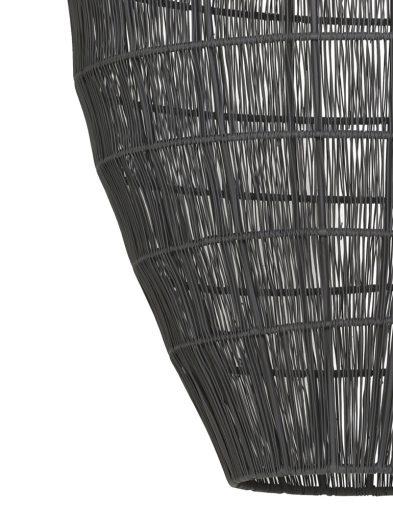 Graue-transparente-Hängelampe-1735GR-2