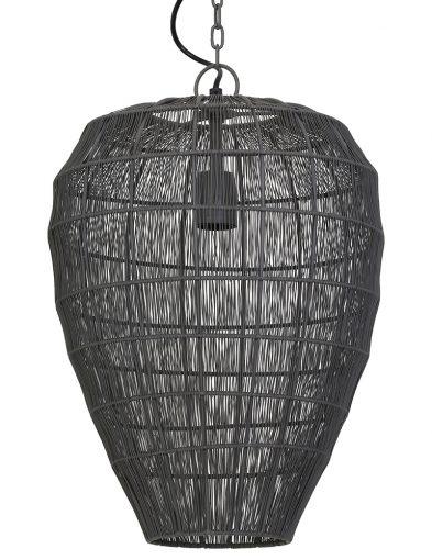 Graue transparente Hängelampe-1735GR