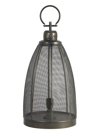 Große Laternenlampe mit Netzbronze-1957BR
